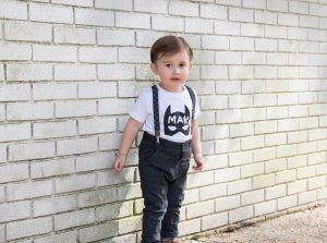 Minted Method Batman shirt by Little Babe Designs