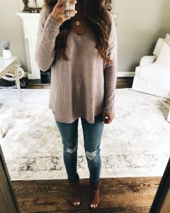 Socialite Cozy Thermal Top Mirror Selfie